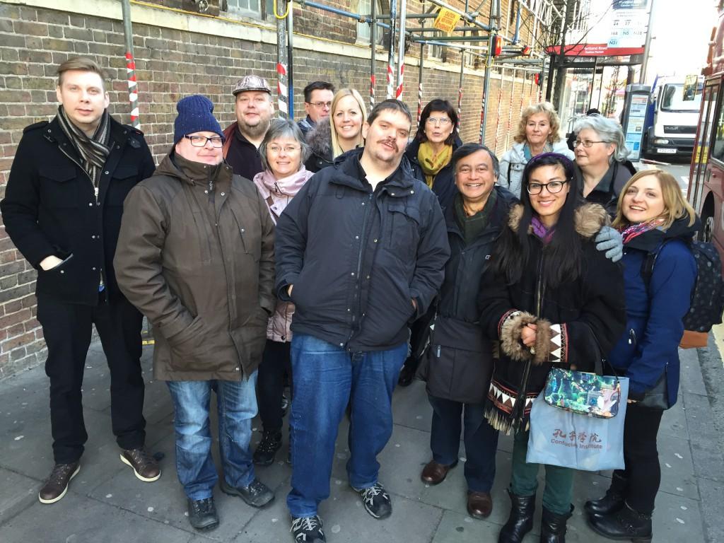 Westum-medlemmar i London
