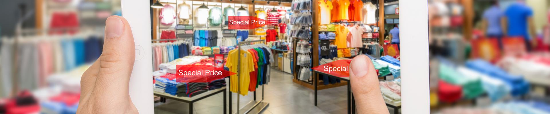 Digitalisering av den fysiska butiken